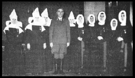 Le Nazi Ante Pavelic et les Nonnes Catholiques