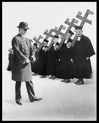 Image de Prêtres Catholiques Nazis de la Revue AIZ, 1934