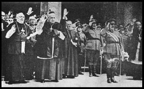 Hiérarchie Catholique Espagnole et les Nazis