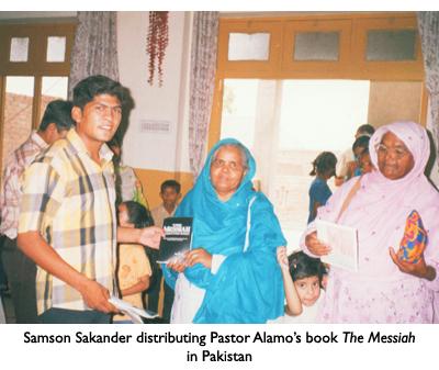 Distributing The Messiah Book in Pakistan