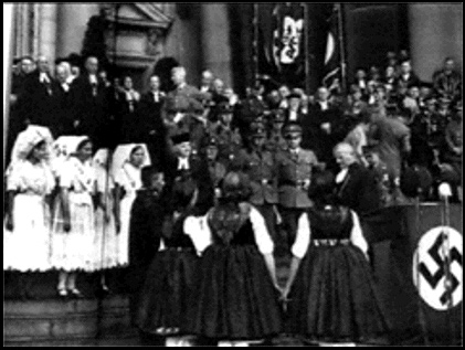Investiture of Ludwig Muller as Reich Church Bishop
