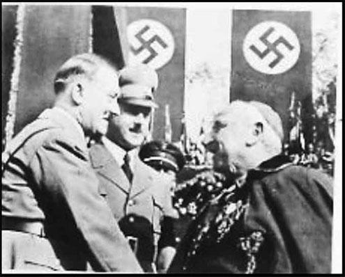 Hitler and Catholic Papel Nuncio Archbishop Orsenigo